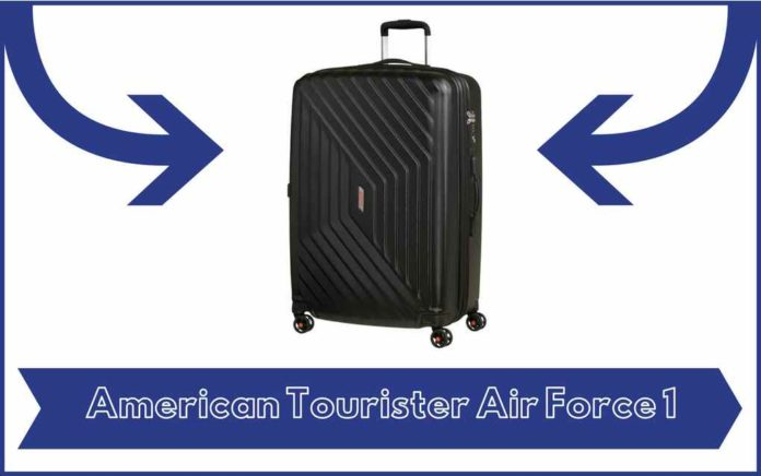 Valise American Tourister Air Force 1 - Avis - Test - Prix