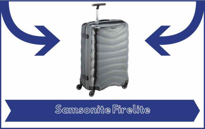Valise Samsonite Firelite - Avis - Test - Prix