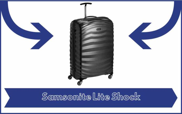 Valise Samsonite Lite Shock - Avis - Test - Prix