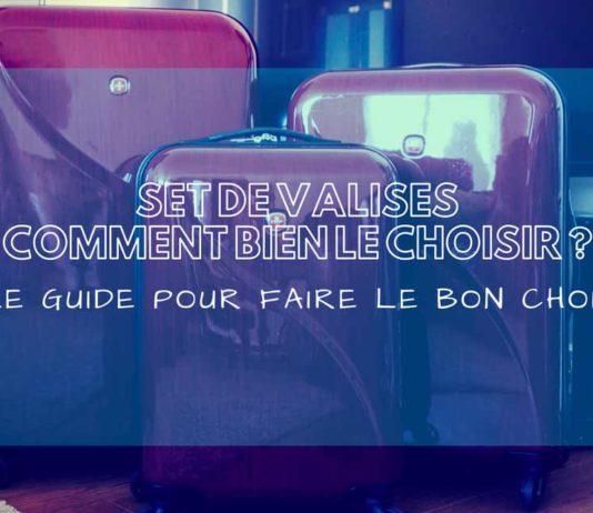 meilleur set valise comparatif