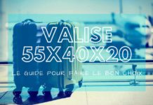 meilleure valise 55x40x20 cabine comparatif