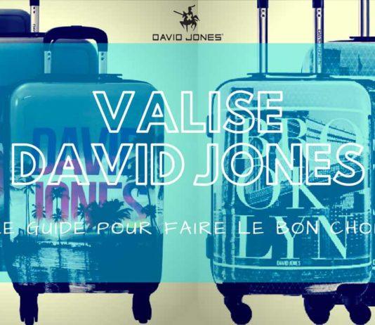 meilleure valise david jones comparatif