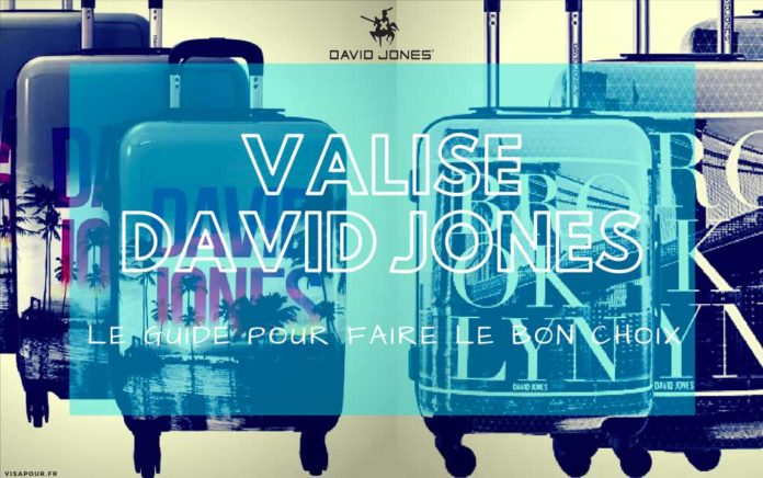 meilleure valise david jones comparatif