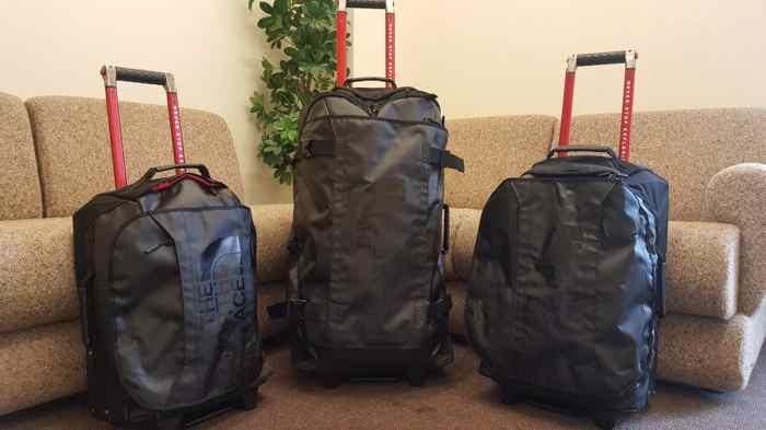 sac de voyage a roulettes comparatif