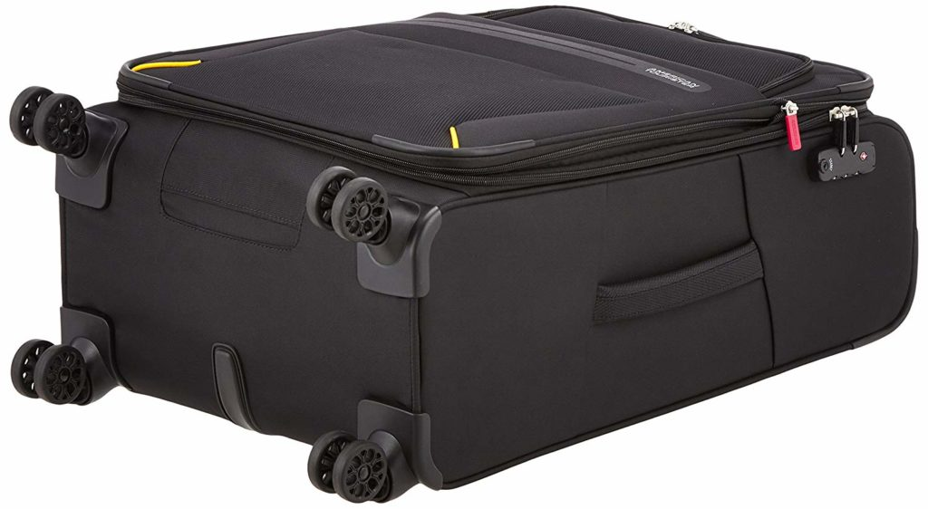 taille roues valise 4 roulettes